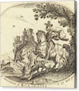 Balthasar Moncornet French Canvas Print