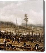 Battle Of Chickamauga, 1863 Canvas Print