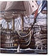 Battle Of Trafalgar Canvas Print