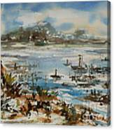 Bay Scene Canvas Print