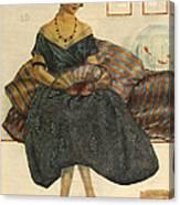 Blanco Y Negro  1923  1920s Spain Cc Canvas Print