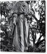 Bonaventure Cemetery Savannah Georgia Canvas Print