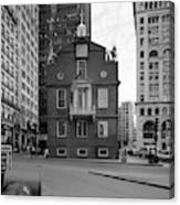 Boston Old State House Canvas Print