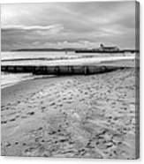 Bournemouth Beach Canvas Print