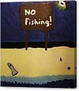 Bp Oil Spill Canvas Print