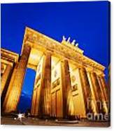 Brandenburg Gate Berlin Germany Canvas Print