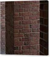 Brick Columns Canvas Print