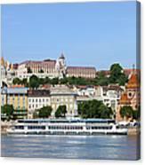 Budapest Cityscape Canvas Print