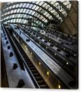 Canary Wharf Station Canvas Print
