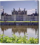 Chambord Castle Canvas Print