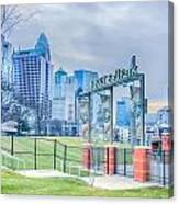 Charlotte Ballpark Canvas Print