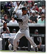 Chicago White Sox V Colorado Rockies 3 Canvas Print