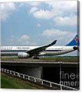 China Southern Airlines Airbus A330 Canvas Print