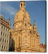 Church Of Our Lady  -  Dresden - Germany Canvas Print