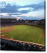 Cincinnati Reds V Chicago Cubs Canvas Print