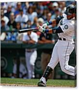 Cleveland Indians V Seattle Mariners Canvas Print