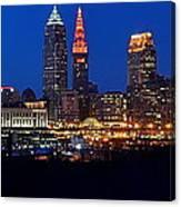 Cleveland Panorama Canvas Print