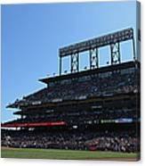Colorado Rockies V. San Francisco Giants Canvas Print