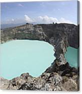 Colourful Crater Lakes Of Kelimutu Canvas Print