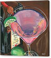 Cosmo Martini Canvas Print
