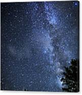 Dark Rift Of The Milky Way Canvas Print