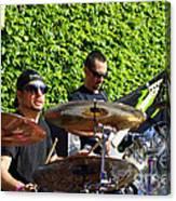 Dave Lombardo And Pancho Tomaselli Canvas Print