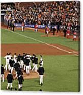 Division Series - Washington Nationals Canvas Print
