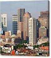 Downtown Boston Skyline Canvas Print