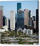 Downtown Houston Skyline Canvas Print