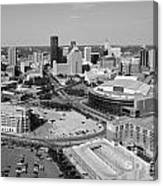 Downtown Skyline Of St. Paul Minnesota Canvas Print