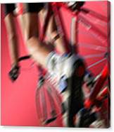 Dynamic Racing Cycle Canvas Print