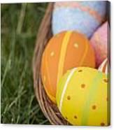 Easter Eggs Canvas Print