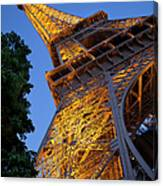 Eiffel Twilight Canvas Print