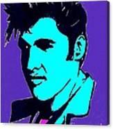 Elvis The King Canvas Print