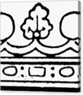 English Crown Canvas Print