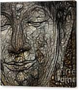 Face Of Buddha Canvas Print