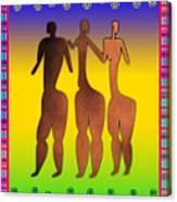 3 Sisters Canvas Print
