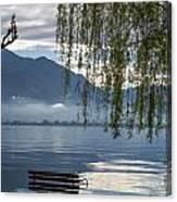 Flooding Lake Canvas Print