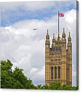 Flying The Colours Canvas Print