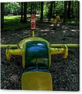 Forgotten Playground Canvas Print