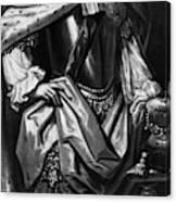 George II (1683-1760) Canvas Print