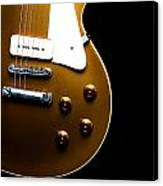 Gibson Les Paul Canvas Print