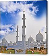 Grand Mosque Canvas Print