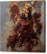 Grapes And Architecture Canvas Print