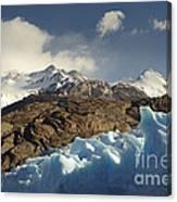 Grey Glacier In Chilean National Park Canvas Print