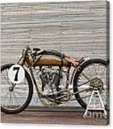 Harley-davidson Board Track Racer Canvas Print