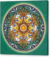 Heaven And Earth Mandala Canvas Print