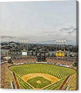 Home Of The Dodgers Canvas Print