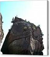 Hopewell Rocks Canvas Print