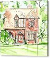 House Rendering Sample Canvas Print